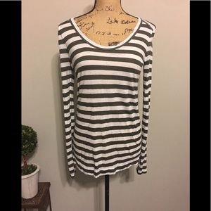 Lou and Grey striped long sleeve tee